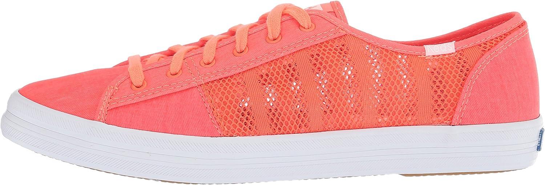 Keds Womens Kickstart Striped Mesh Sneakers