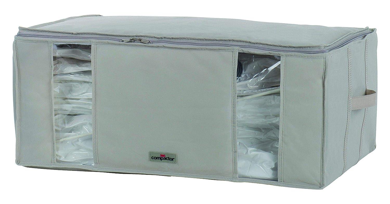 Compactor Caja de Almacenaje Al Vacío, Talla XXL, 210 l, Beige Life 2.0