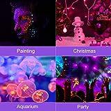KUKUPPO UV Blacklight, 100w LED UV Black Light