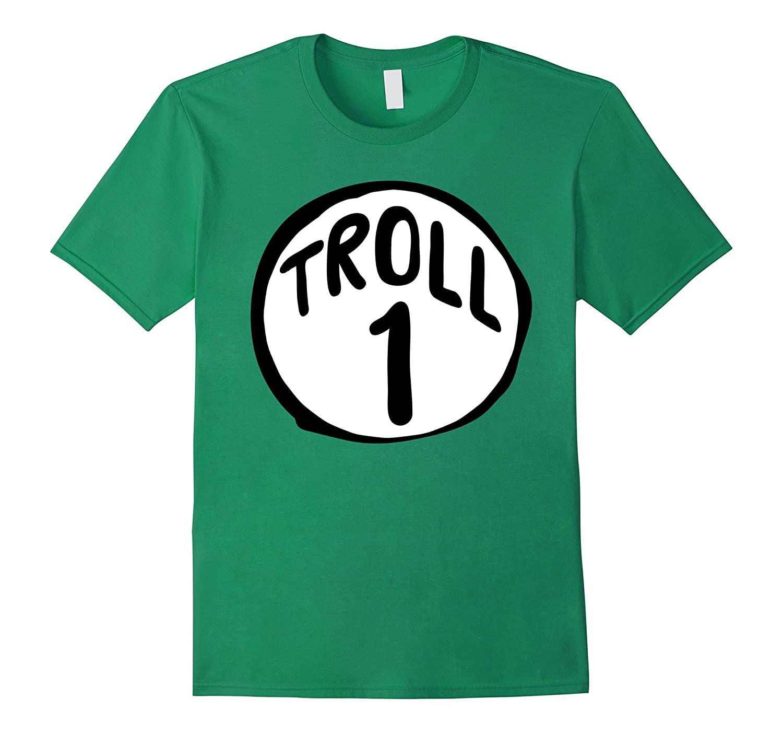 'Troll 1' Halloween Troll Costume Shirt-T-Shirt
