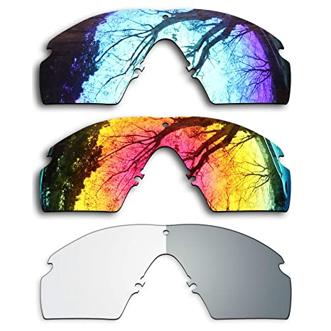 fc7488c7b42 Image Unavailable. Image not available for. Color  ToughAsNails 3 Pair Replacement  Lenses for Oakley Si Ballistic M ...