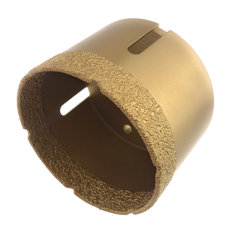 PRODIAMANT Premium Diamant Couronne pour foret, avec filetage M14, convient à tous les Meuleuse d'angle, Couleur Or, or, PDX855.800 convient à tous les Meuleuse d'angle