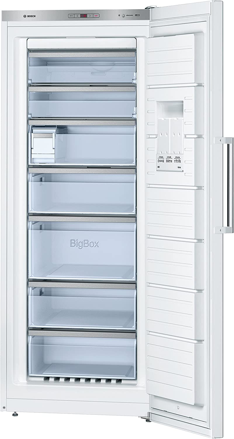 Bosch GSN54AW40 - Congelador (Vertical, Independiente, Color ...