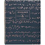 """AT-A-GLANCE 2019 Weekly & Monthly Planner, 8-1/2"""" x 11"""", Large, Badge Splatter Dots (5148D-905)"""