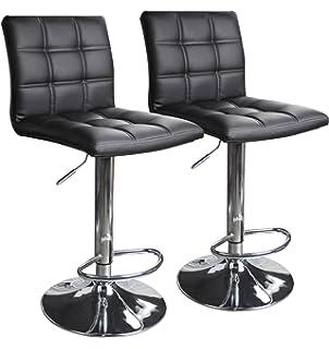 Enjoyable Amazon Com Bar Stools Counter Height Adjustable Bar Chairs Uwap Interior Chair Design Uwaporg