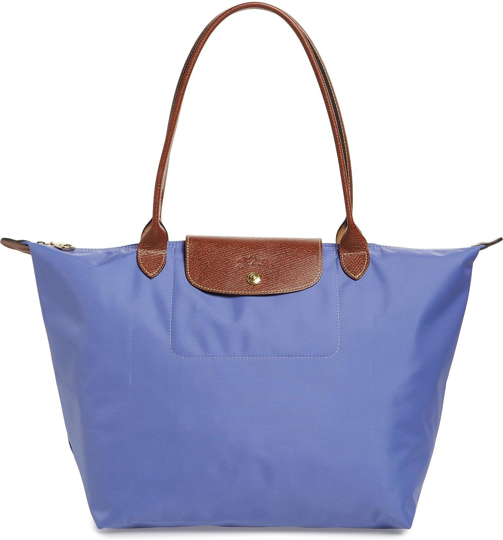 luxuriant in design buy online hot-selling professional Longchamp 'Medium 'Le Pliage' Tote Shoulder Bag, Lavender