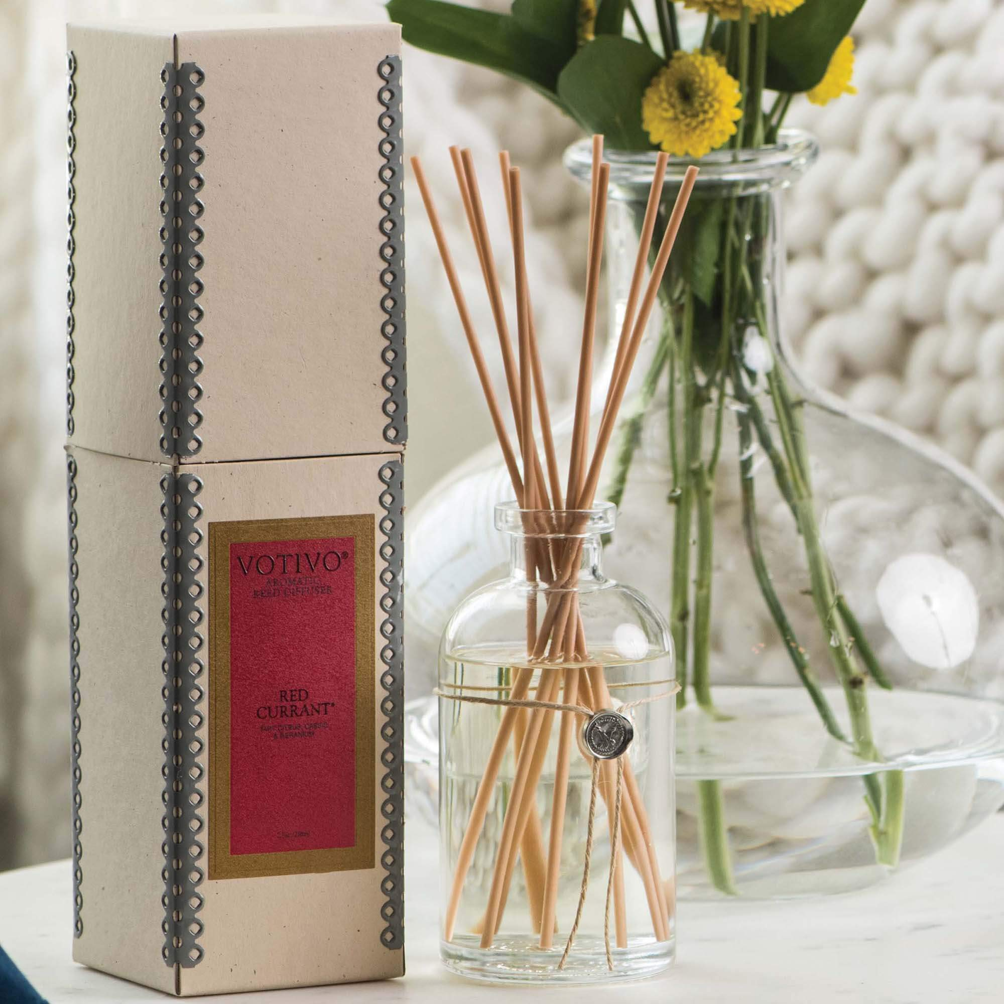 Votivo Aromatic Reed Diffuser - Red Currant by Votivo (Image #5)