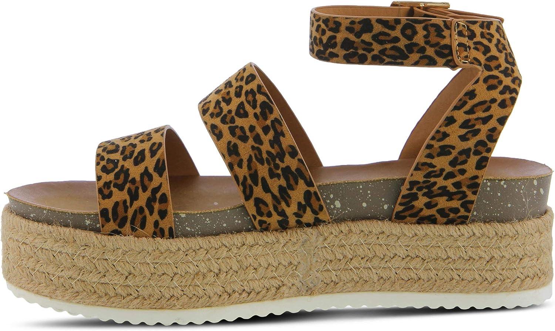 Larissa Wide-Strap Platform Sandal