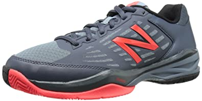 New Balance Mens MC896V1 Stability Tennis Shoe       Grey Red