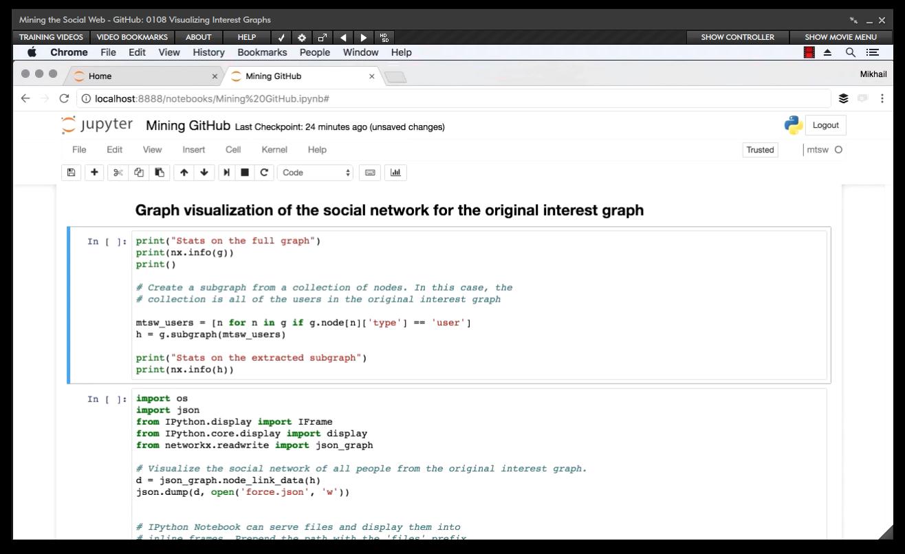 Amazon com: Mining the Social Web - GitHub [Online Code