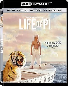 Life of Pi 4K UHD Blu-ray