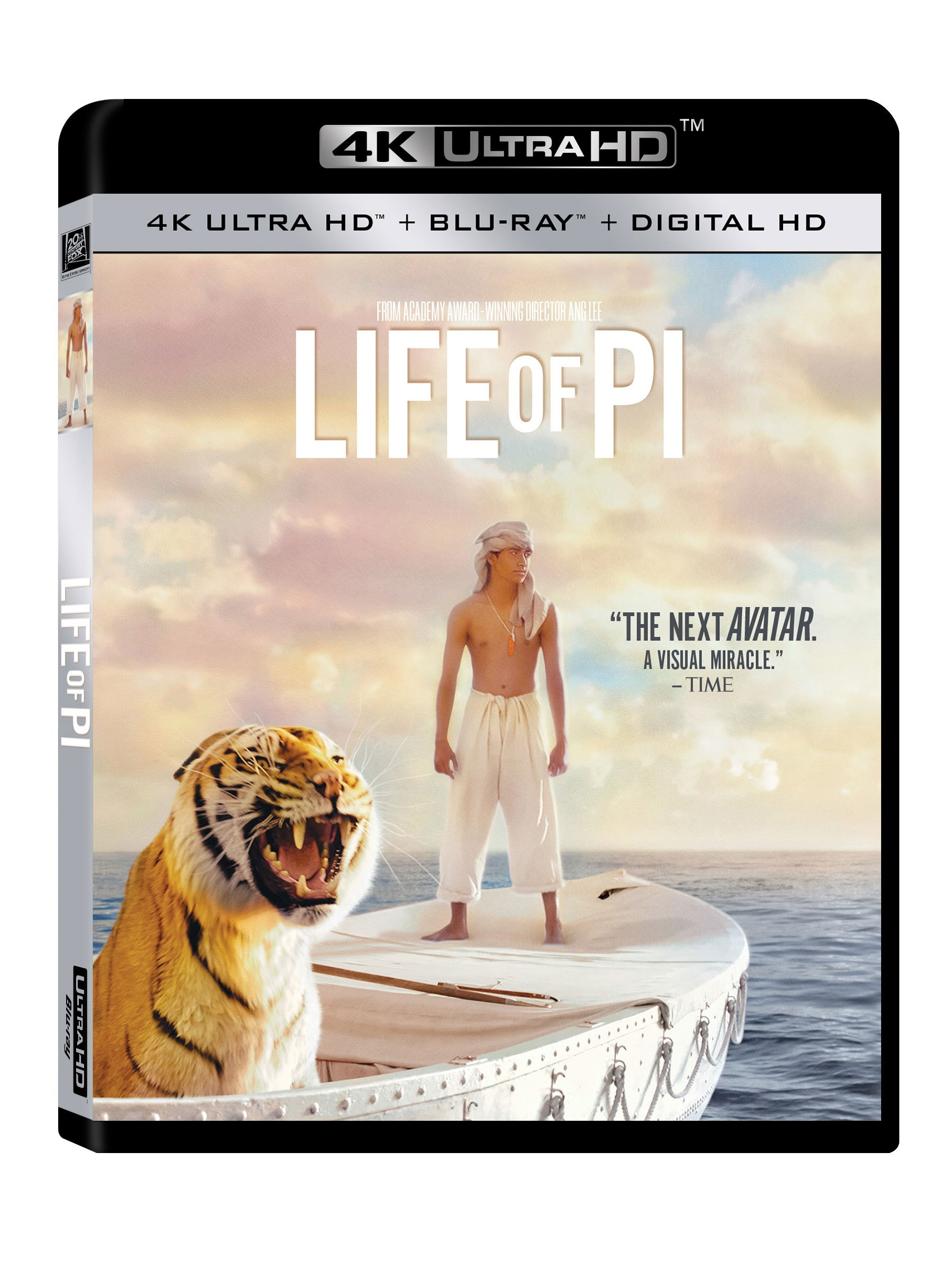 4K Blu-ray : Life of Pi (Digitally Mastered in HD)