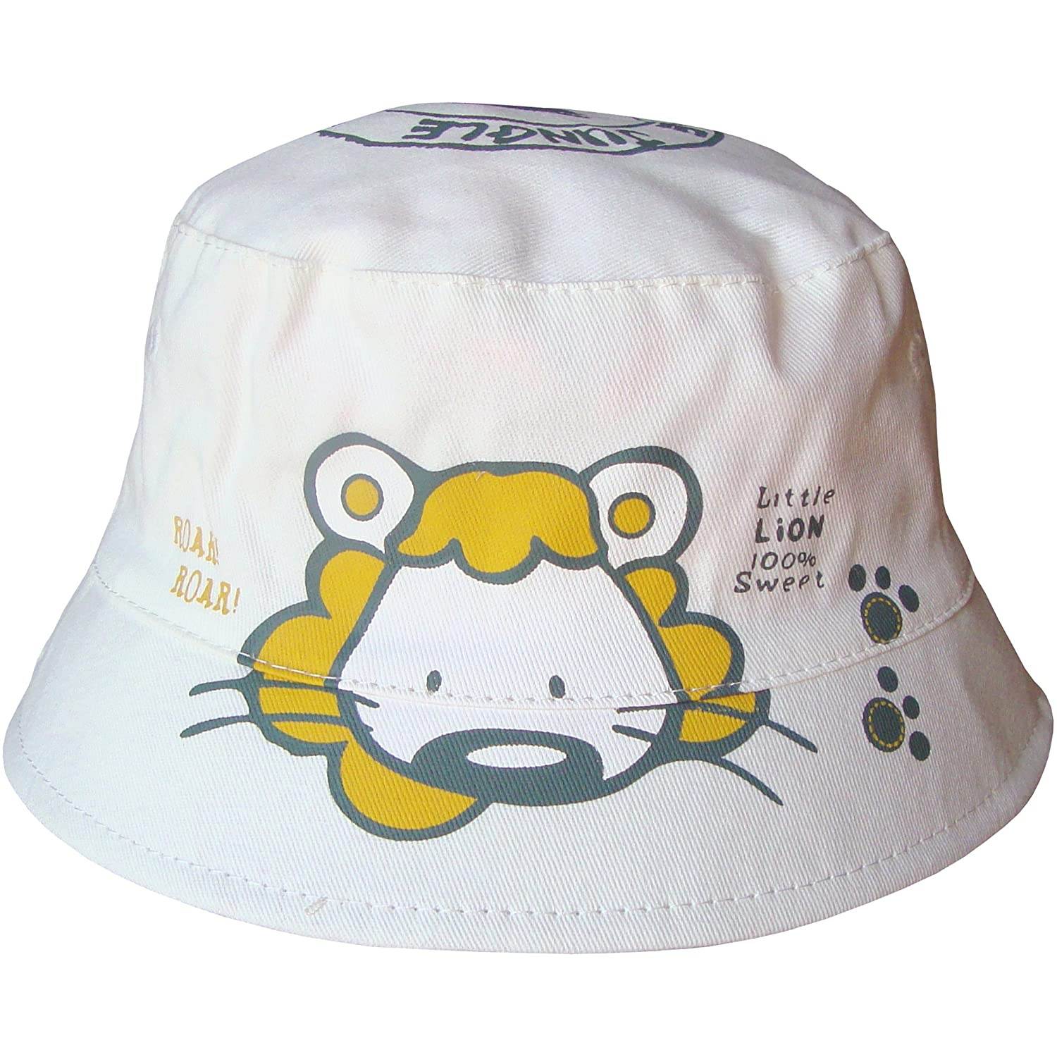 Baby Boys & Girls Unisex Lion Safari Bucket Style Summer Sun Beach Hat