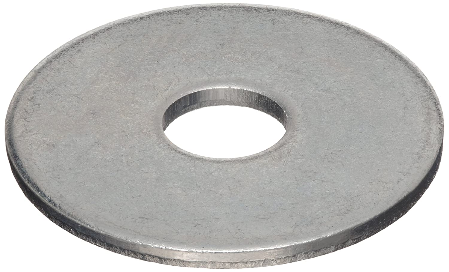 Made in US Zinc Plated Finish 0.101 Nominal Thickness 0.531 ID 1.750 OD 0.101 Nominal Thickness Accurate Manufacturing WASB12WZ #2 Hole Size Steel Type B Flat Washer Pack of 10 1.750 OD 0.531 ID