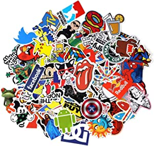 Love Sticker Pack 100-Pcs,Random Sticker Decals Vinyls for Laptop,Kids,Cars,Motorcycle,Bicycle,Skateboard Luggage,Bumper Stickers Hippie Decals Bomb Waterproof
