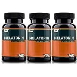 Optimum Nutrition Melatonin 3mg, 100 Tablets (3 packs)
