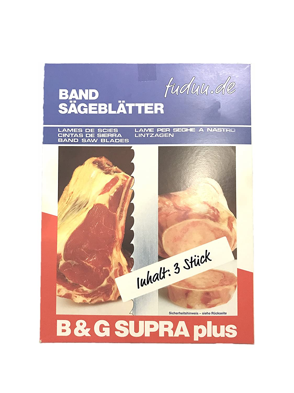 1600 x15 mm Bands/ägebl/ätter SUPRA f/ür Knochens/ägen verschiedene Gr/ö/ßen