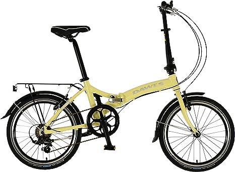 Dawes Kingpin Bicicleta plegable marfil 2018: Amazon.es: Deportes y aire libre