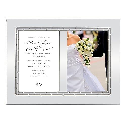 Silver Wedding Invitations Amazon: Frame For Wedding Invitations: Amazon.com