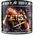 RE1GN Ultra Premium 5 Stage Pre-Workout With 5 Trademarked Ingredients, 40 Scoops (ISEE FURY)