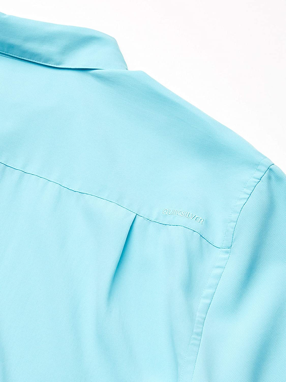 Quiksilver Mens Cane Island Comfort Fit Button Down Shirt