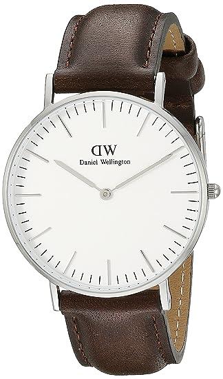 Daniel Wellington Reloj con correa de acero para hombre 0209DW  Daniel  Wellington  Amazon.es  Relojes c0e5ed1e20cf