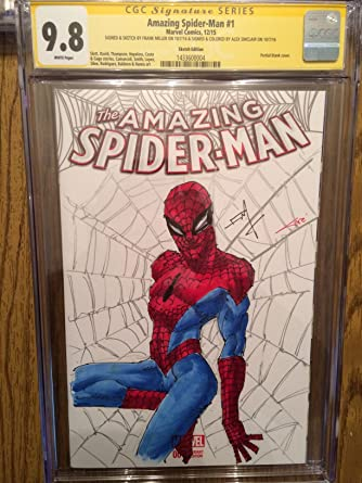 b6aed7274a1fd Amazing Spider-Man #1 SIGNED ORIGINAL Sketch Art by Frank Miller ...