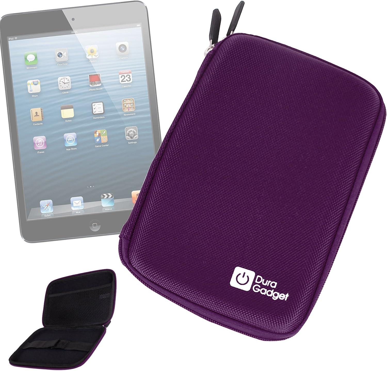 DURAGADGET Purple Hard Shell Carry Sleeve - Suitable for use with Apple iPad 4 16GB with WiFi | iPad | iPad 2 | iPad 3rd Gen | iPad 4th Gen & iPad Cellular