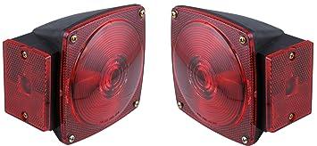 Amazoncom LH  RH PreWired Stop Tail Turn Trailer Brake Lights