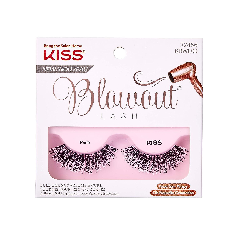 3d49d99b4fa Kiss Lashes Kbwl03ca - Kiss Blowout Eyelashes - Pixie, 0.03 Pounds:  Amazon.ca: Beauty