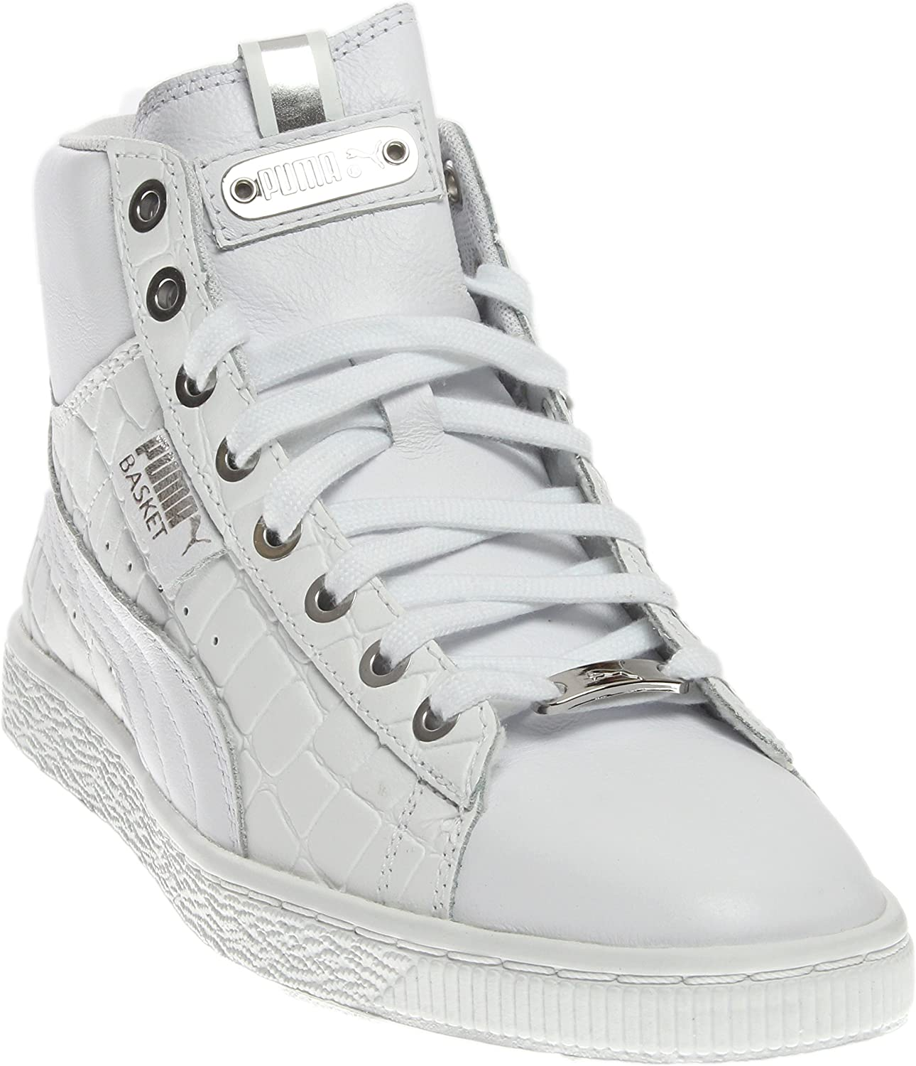 PUMA Women s Basket Mid Exotic Sneakers