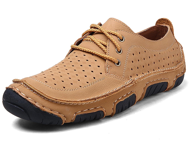 GNEDIAE Zapatos de para Hombres Zapatos Ocasionales para Hombre Zapatos Respirables Zapatos Ligeros 40 EU|2622 Negro Marrón
