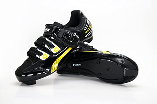 d6f2c6a8a9 FDX Mens Cycling Shoes Road Cycling Lock-Slip Breathable Lightweight Bike  Shoes (UK 8