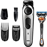 Braun Beard Trimmer BT5265, Hair Clippers for Men, Cordless & Rechargeable, Mini Foil Shaver with Gillette ProGlide…