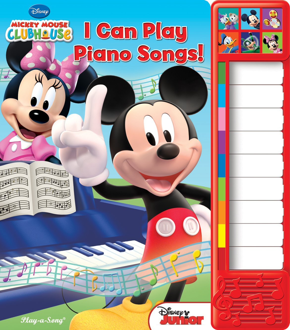 Mickey Mouse Clubhouse: I Can Play Piano Songs!: Piano Sound Book (Mickey Mouse Clubhouse: Play-a-Song)