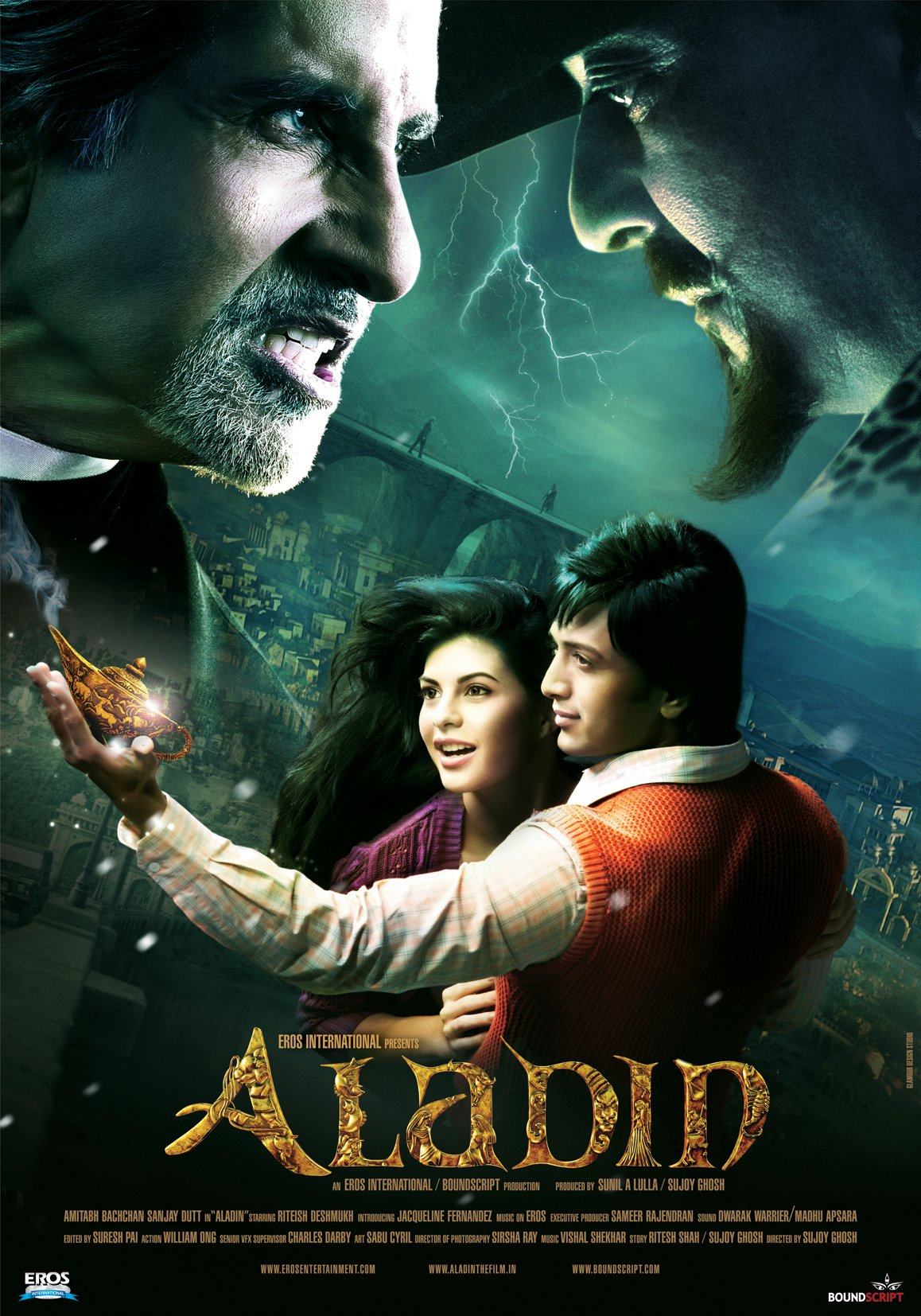 Aladin English Subtitled Amitabh Bachchan Sanjay Story Books Of Dutt Riteish Deshmukh Jacqueline Fernandez Amazon Digital Services Llc