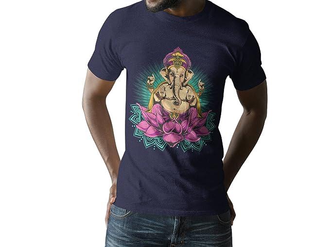 Amazon.com: Davatka Ganesh - Camiseta unisex para hombre ...