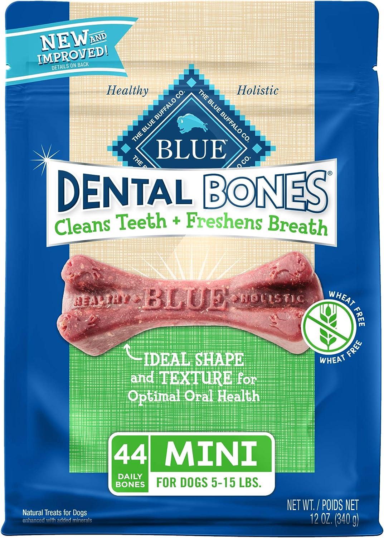 Blue Buffalo Dental Bones All Natural Mini Dog Treats