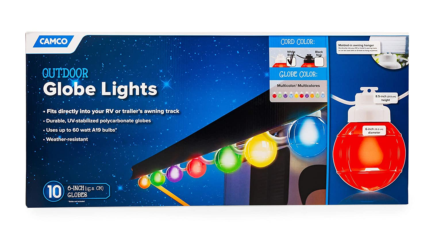 Best LED RV Awning String Lights of 2019 - Upgrade the Mood