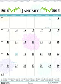 """product image for House of Doolittle 2016 Monthly Wall Calendar, 12"""" x 16.5"""", Whimsical Floral (HOD3842-16)"""