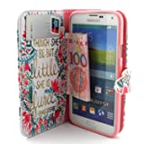 S5 Case, Galaxy S5 Wallet Case, Jenny Shop Stand
