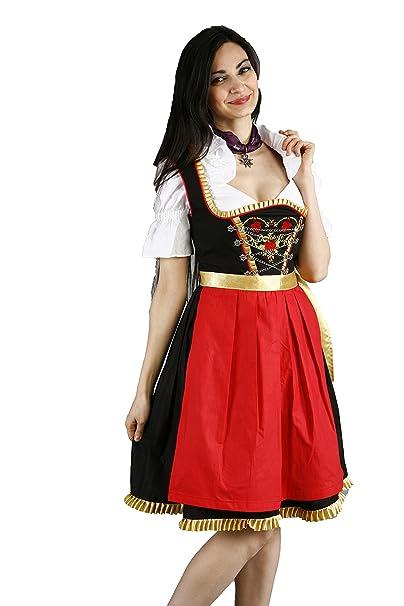 almandat rachten Mujer Traje típico de Tirolesa Midi Set ...