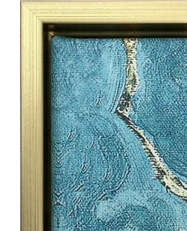 """pronta da Appendere Riproduzione del Famoso Dipinto a Olio di Van Gogh /""""Ramo di Mandorlo Fiorito/"""" Decorazione in casa per Camera da Letto /Stampa Artistica Wieco Art/"""