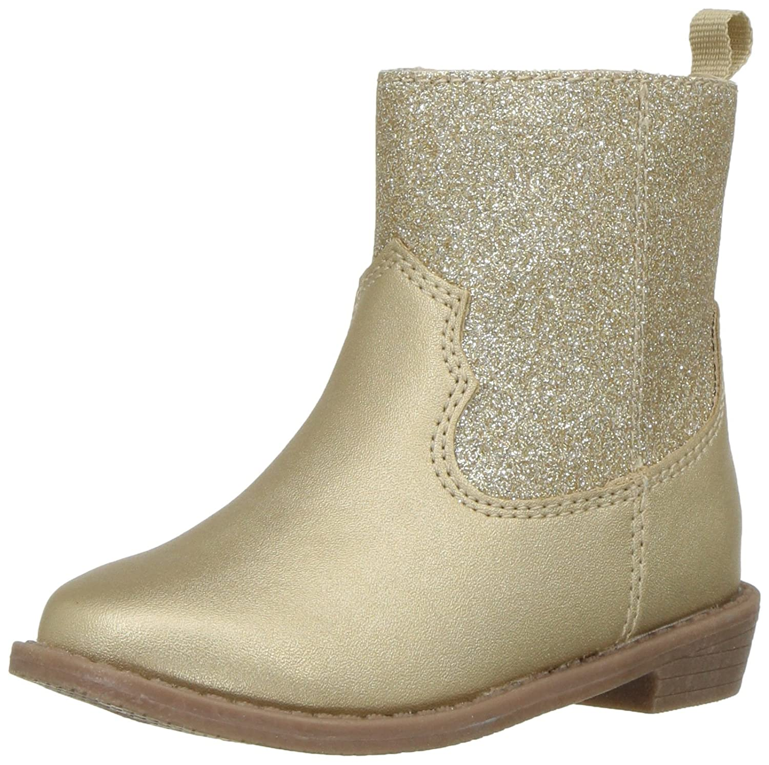 Carter's Kids Girl's Dawn4 Gold Western Boot Carter' s CF180341