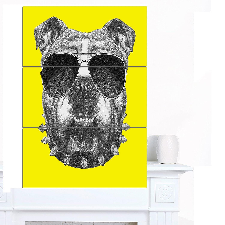 Amazon.com: Designart PT13203-30-40 Contemporary Animal Art Canvas ...