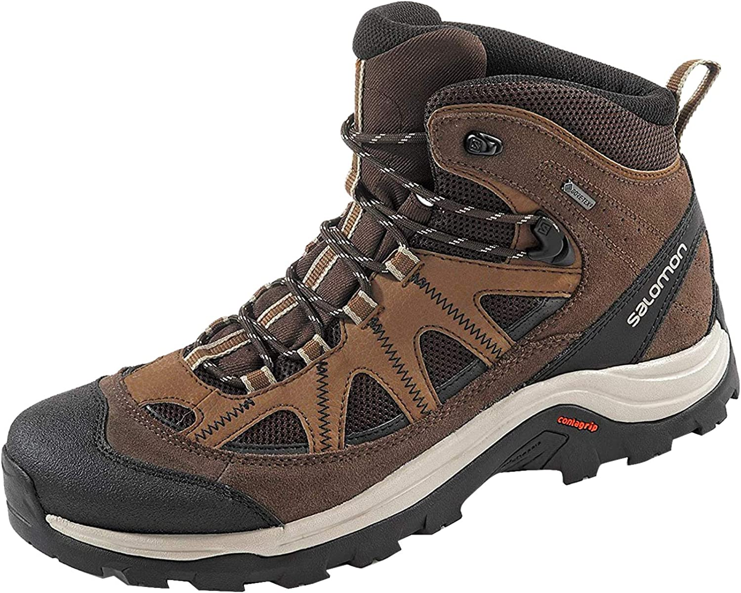 Salomon Men s Authentic Leather GORE-TEX Backpacking Boots