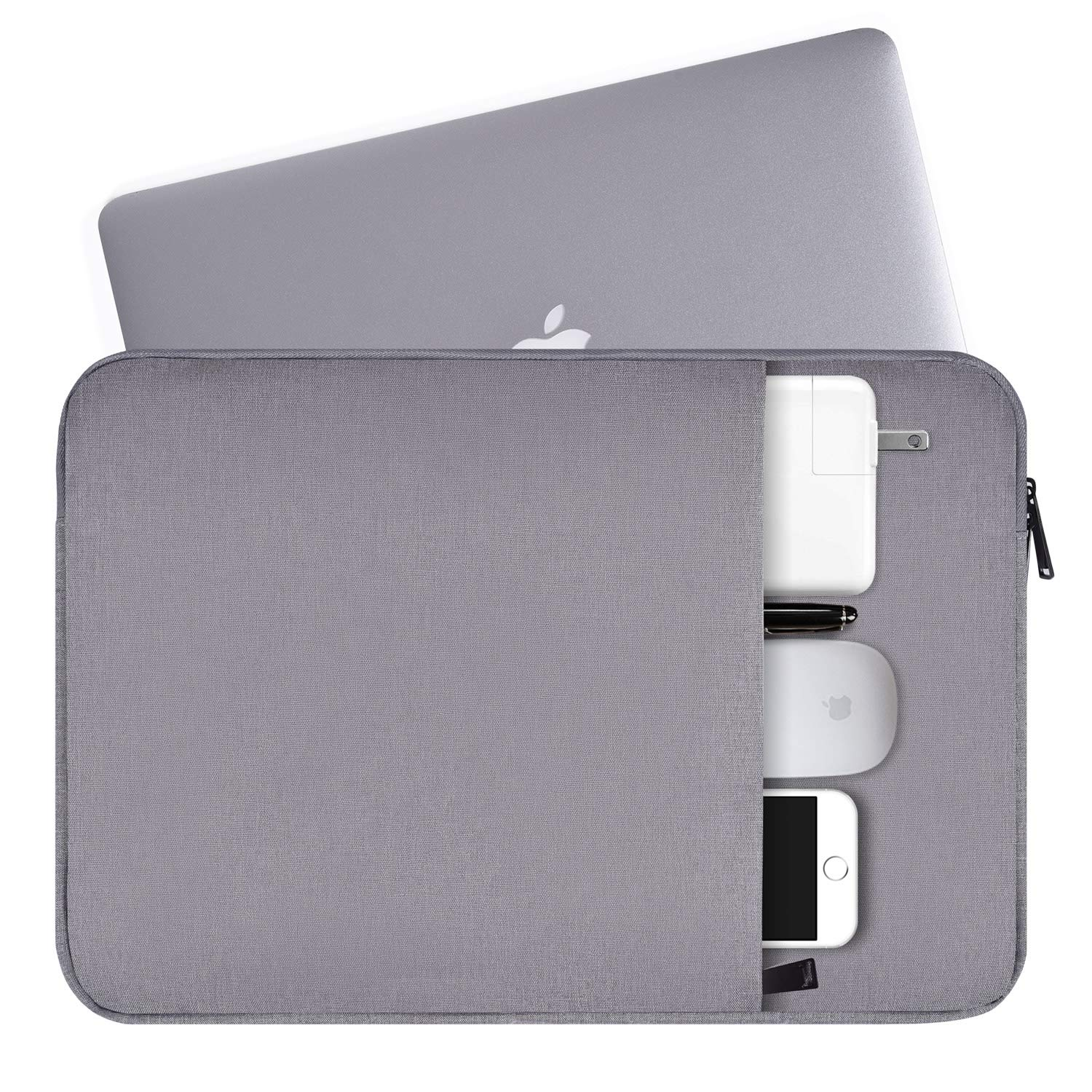 Funda Para Laptop De 15.6 Acer Aspire, Dell Inspiron (gris)