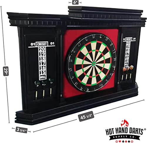 Hot Hand Hinsdale Dartboard Cabinet