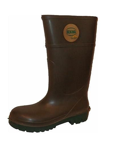 "bekina PU de botas ""agrilite, Verde, según EN ISO 20347,"