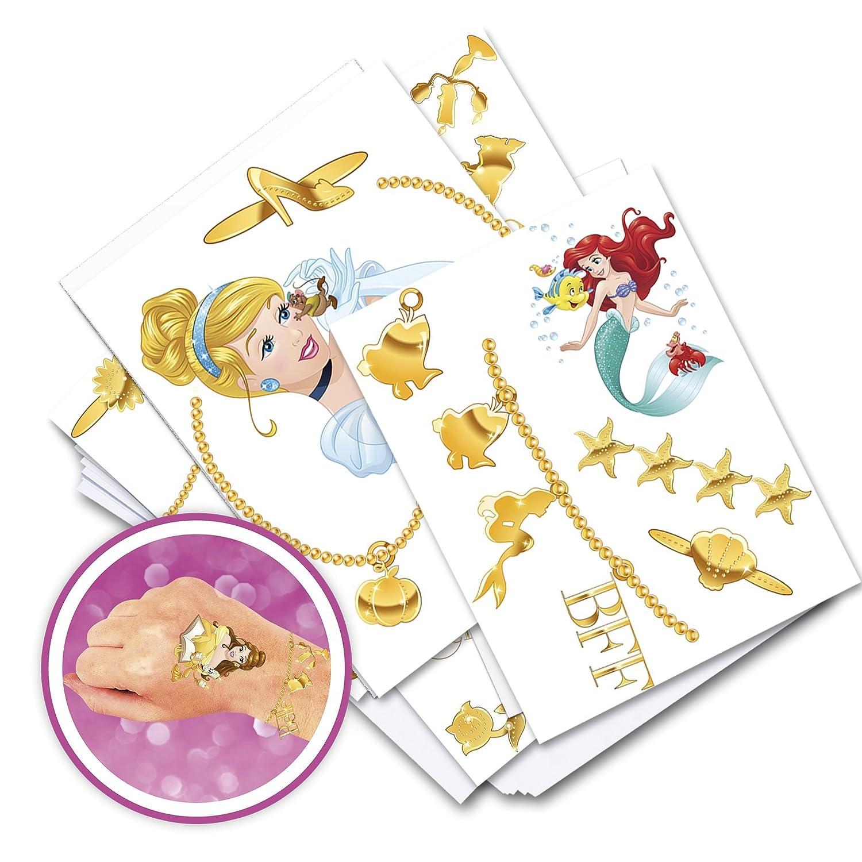 Lansay - 25140 - Princesas - Mi joyería Tatuaje: Amazon.es ...